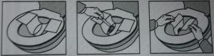 hármas kombinált székletteszt székletfogó papír